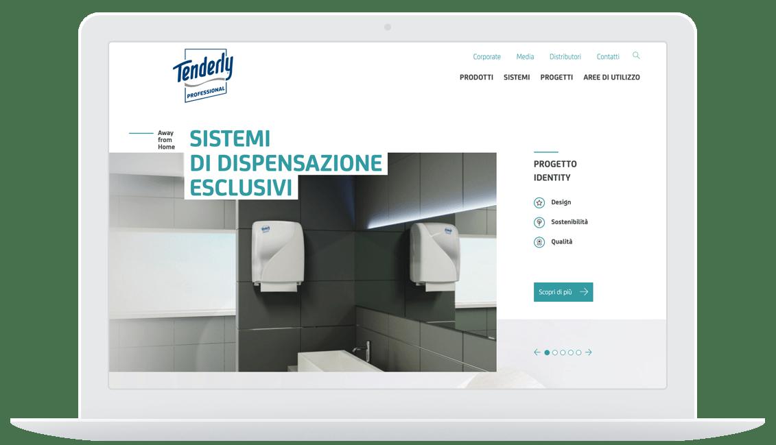 Tenderly sito desktop