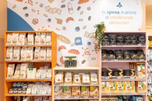 Restyling negozio TAT prodotti senza glutine