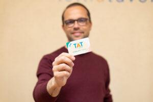 TAT fidelity card