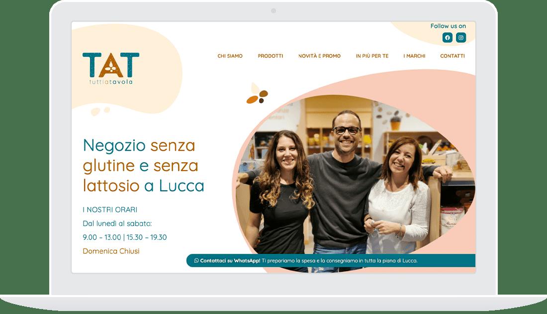Sito web TAT Desktop