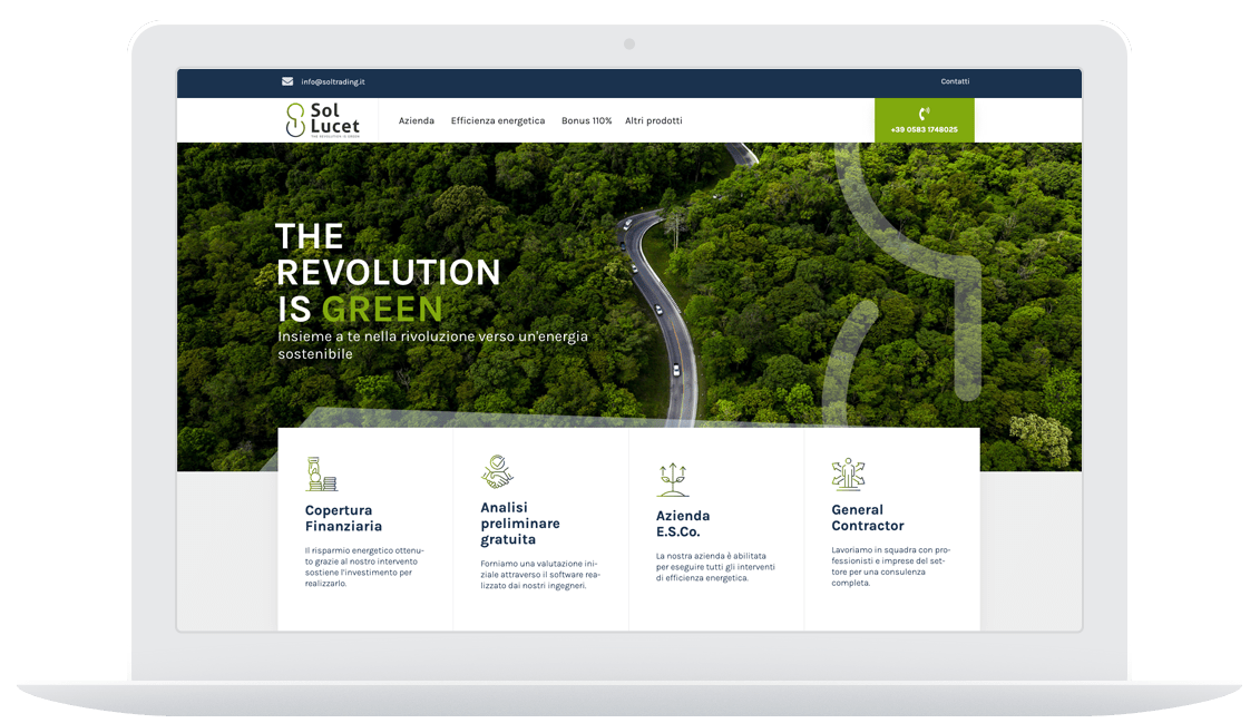 Sol Lucet sito desktop